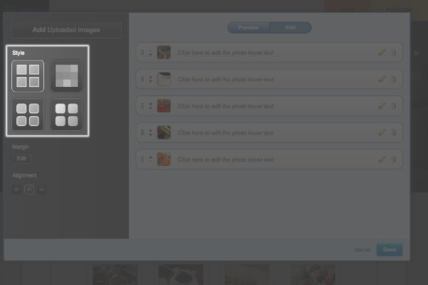 how to change widget picture
